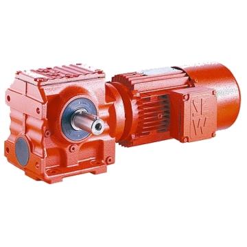 Цилиндро-червячные мотор-редукторы S