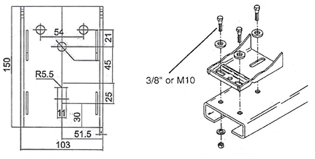 Схема лебедки на квадроциклах