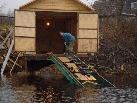 гараж для лодки купить